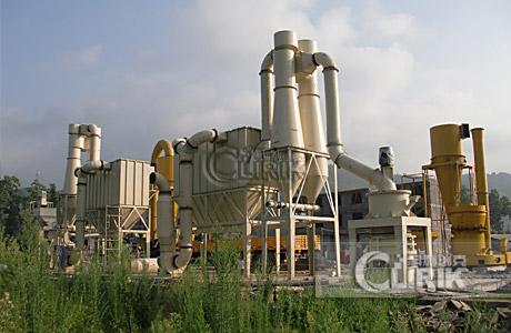 2500mesh Mineral Powder Mill in Thailand