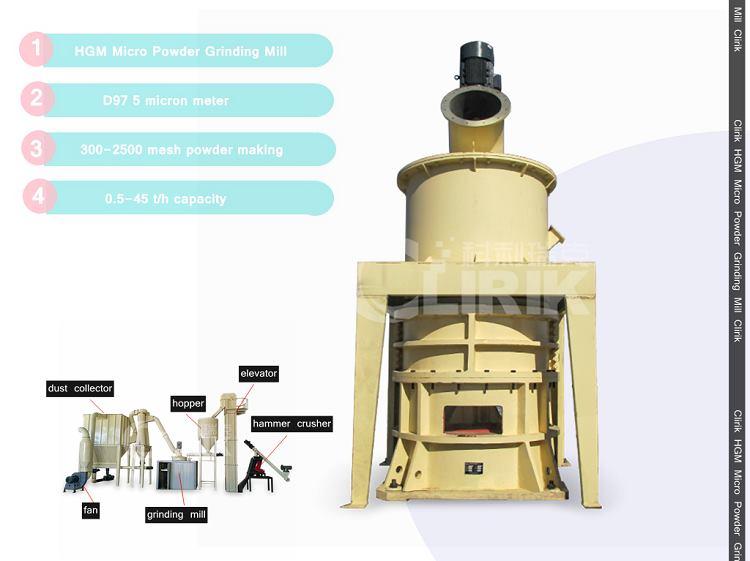 800 Mesh Ultra Fine Powder Grinder Machine
